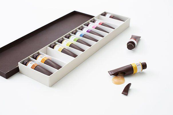 هنر طراحی شکلات