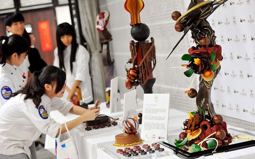 عجیبترین جشنهای شکلات در جهان