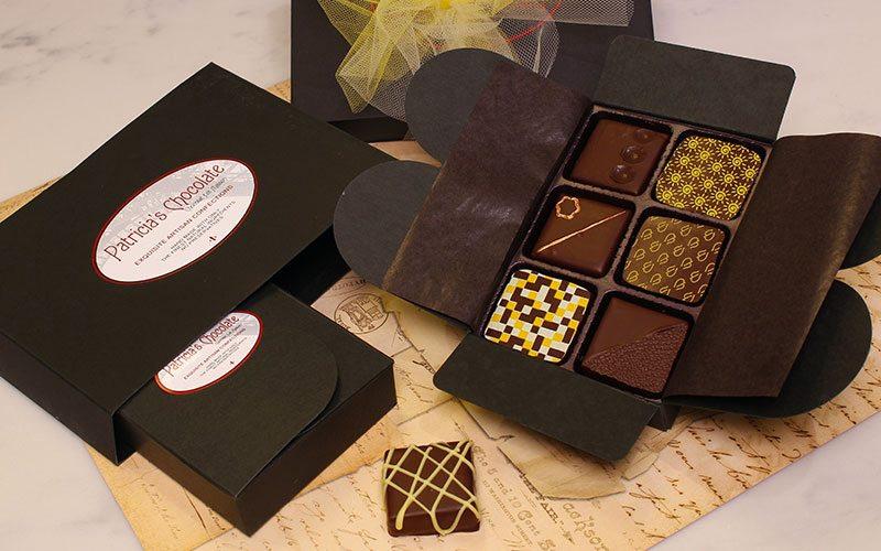 انواع گوناگون جعبه شکلات