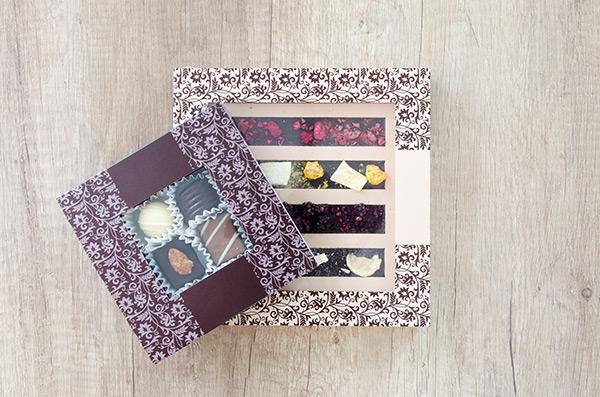 ایدههای زیبا در بسته بندی و جعبه شکلات