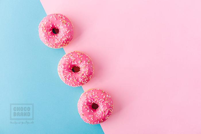 شیرینی دونات برای جمعهای دوست داشتنی
