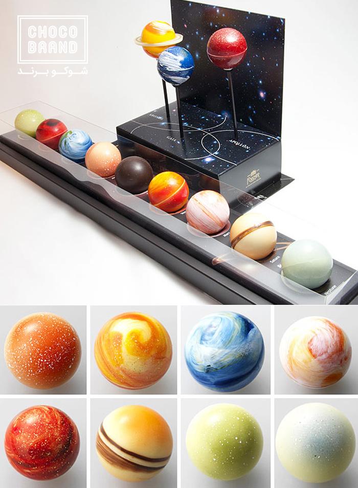 سیارههای شکلاتی
