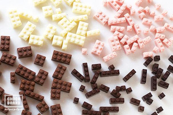 خلاقیت با شکلات