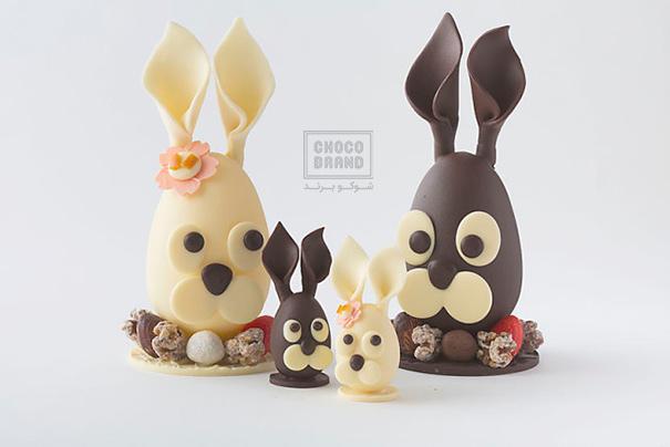 حیوان دست آموز ساخته از شکلات