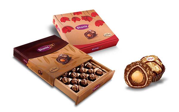 محصولات شکلاتی شونیز