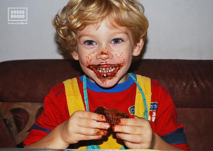 شکلات خوراکی مفید برای کودکا